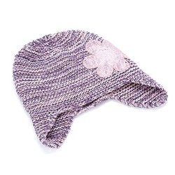 Peppercorn Kids  - Sequin Flower Beanie