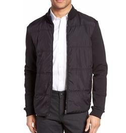 Hugo Boss - Shepherd Woven Front Fleece Jacket