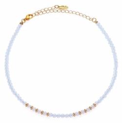Ettika  - Beaded Gemstone Choker Necklace
