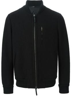 Giorgio Armani - Zipped Bomber Jacket