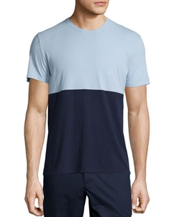 ATM - Colorblock Short-Sleeve Jersey T-Shirt