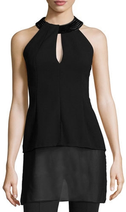 Akris - Embellished Halter-Neck Top