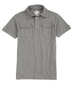 First Wave  - 8-20 Slub Polo Shirt