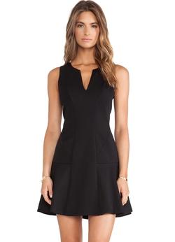 Romwe - V Neck Sleeveless Ruffle Dress