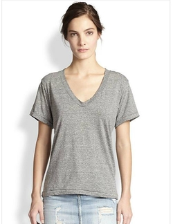 Current/Elliott - The V-Neck Tee