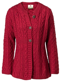 J. Peterman - Button Front Howth Sweater