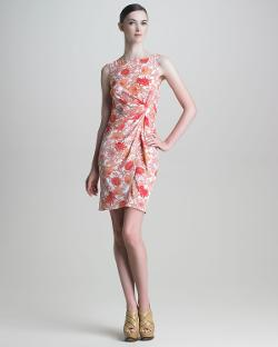 Thakoon  - Floral-Print Silk Dress