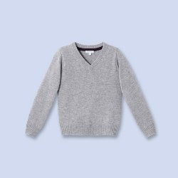 Jacadi - Cashmere V-Neck Sweater