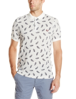 Fred Perry - Drakes Handkerchief Print Pique Polo Shirt