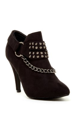 Volar Fashion - Anna Studded Chain Heel