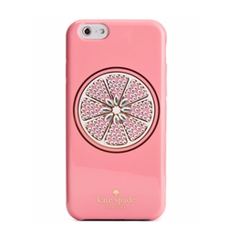 Kate Spade New York - Jeweled Grapefruit iPhone Case