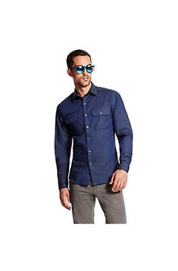 Vince Camuto  - Utility Two Pocket Button Down Shirt