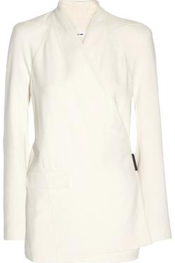 Helmut Lang - Wrap-Effect Jersey blazer