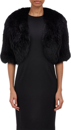 Barneys New York - Fox Fur Shrug