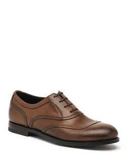 Bottega Veneta  - Edorado Leather Oxford Shoes