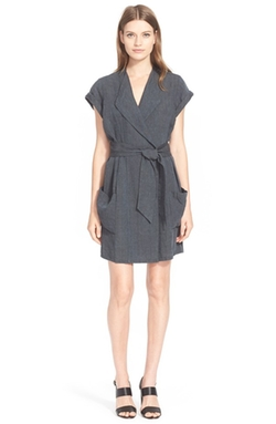 AYR - Linen Trench Dress