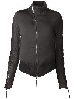 HUDSON - BOMBER JACKET - snakeskin effect bomber jacket