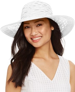 Nine West - Sheer Floppy Hat
