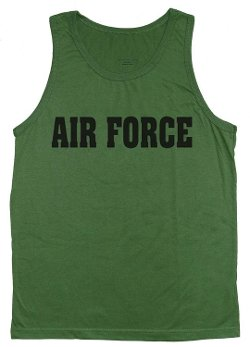 Decked Out Duds - US Air Force Tank Top