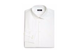 Saks Fifth Avenue Collection  - Slim-Fit Stretch Poplin Dress Shirt