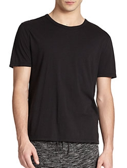 T by Alexander Wang - Basic Cotton T-Shirt