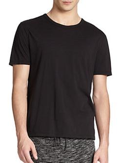 T by Alexander Wang - Basic Cotton T-Shirt