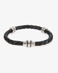Barrel B - Thick Leather Bracelet