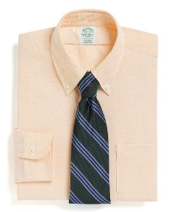 Brooks Brothers - Extra-Slim Fit Button-Down Collar Dress Shirt