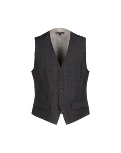 John Varvatos - Check Suit Vest