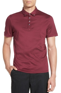 Bedford Park  - Short Sleeve Button Down Polo Shirt