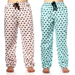 Noble Mount  - Womens Cotton Poplin Lounge/Sleep Pants