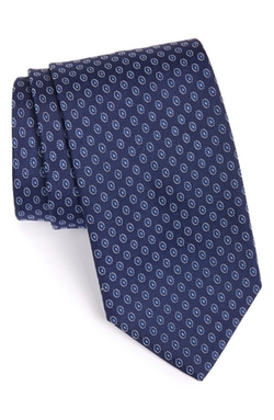 Boss - Geometric Silk Tie
