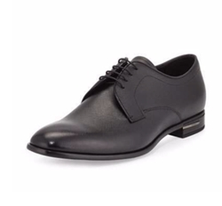 Prada - Saffiano Leather Lace-Up Oxford Shoes