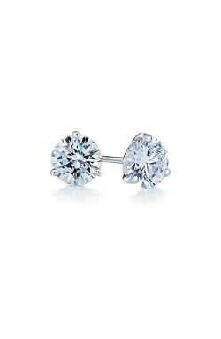 Kwiat  - Diamond & Platinum Stud Earrings