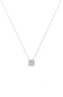 Nordstrom  - Princess Cut Pavé Pendant Necklace
