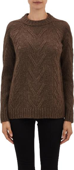 Barneys New York - Cable Stitch Sweater