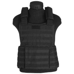 CamoOutdoor - Modular Combat Assault MOLLE Padded Vest Military Tactical Police Carrier Black