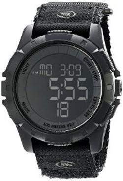 Freestyle  -  Unisex Digital Display Black Watch