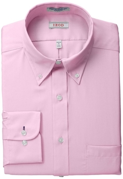 Izod  - Twill Solid Dress Shirt