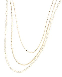 Lana - Glam Sienna Multi-Chain Necklace