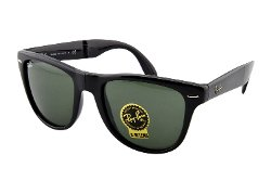 Ray Ban - Folding Wayfarer Square Sunglasses