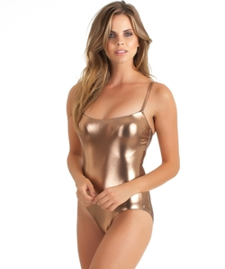 Luxe By Lisa Vogel - Rose Gold Maillot