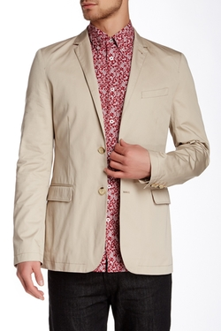 Ben Sherman - Cotton Twill Two Button Notch Lapel Blazer