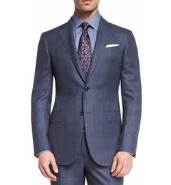 Ermenegildo Zegna - Plaid Two-Piece Suit