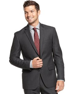Ryan Seacrest Distinction - Neat Slim-Fit Jacket