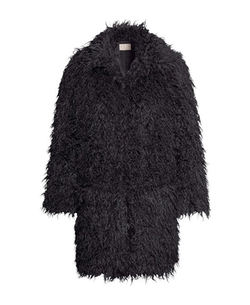 Chicnova - Loose Fit Imitated Fur Coat