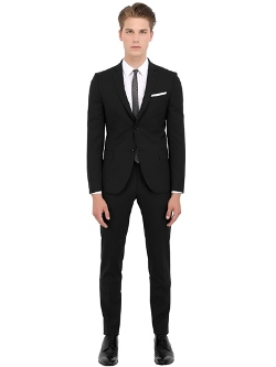 Daniele Alessandrini Grey - Stretch Wool Suit