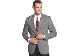 Calvin Klein  - Tweed Slim-Fit Sport Coat