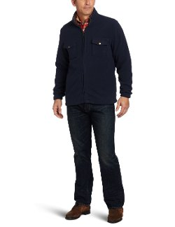 Izod - Two Chest Pockets Full Zip Jacket