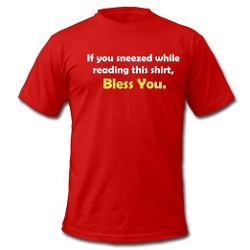 Spreadshirt - Tobuscus Bless You T-Shirt